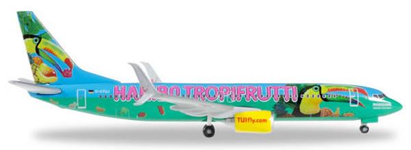 Herpa 528191 - Boeing 737-800 Tuifly - Haribo Tropifrutti