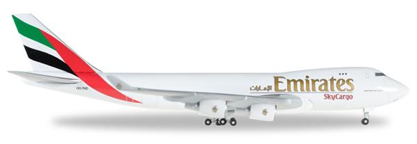 Herpa 528207 - Boeing 747-400f Emirates Sky Cargo