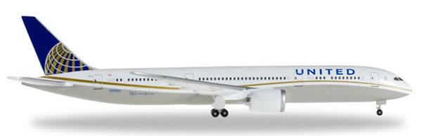 Herpa 528238 - Boeing 787-8 United Airlines