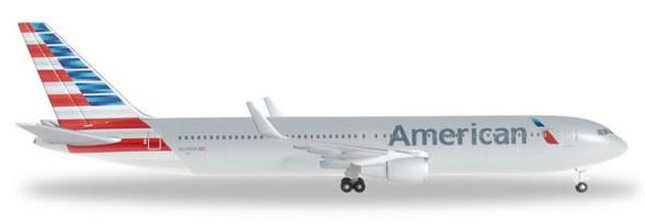 Herpa 528276 - Boeing 767-300er American Airlines