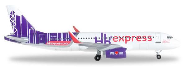 Herpa 528481 - Airbus 320 Hong Kong Express