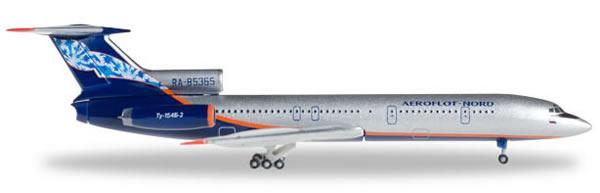 Herpa 528764 - Tupolev 154 B2 Aeroflot Nord