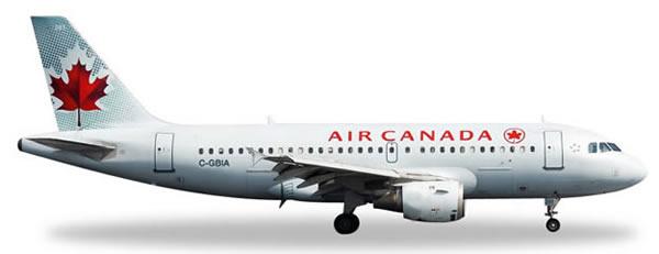 Herpa 528795 - Airbus 319 Air Canada