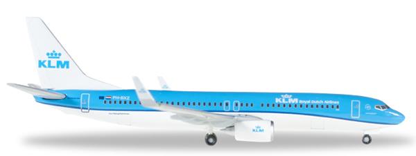 Herpa 528962 - Boeing 737-800 KLM