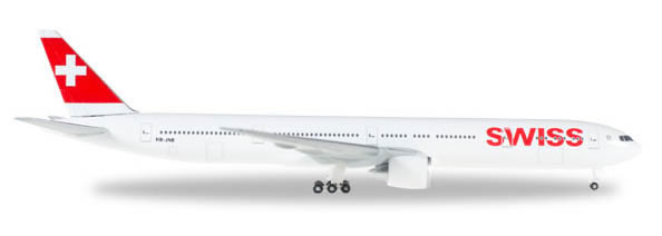 Herpa 529136 - Boeing 777-300er Swiss International