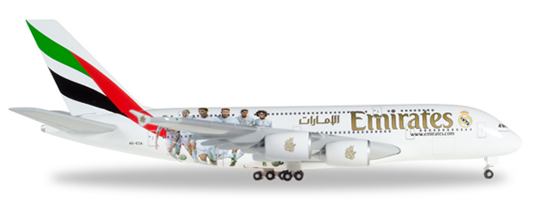 Herpa 529242 - Airbus 380 Emirates - Real Madrid