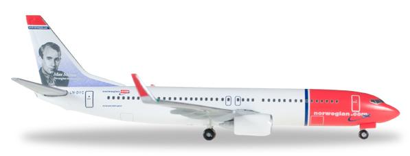 Herpa 529280 - Boeing 737-800 -001 Norwegian Air Shuttle