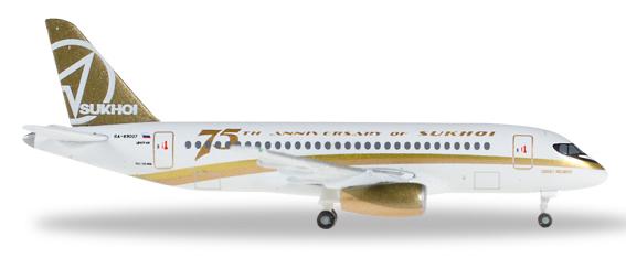 Herpa 529310 - Sukhoi Superjet 100 Center South