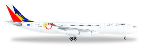 Herpa 529341 - Airbus 340-300 Phillipine Airlines