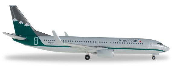 Herpa 529372 - Boeing 737-800 American Airlines, Reno Air