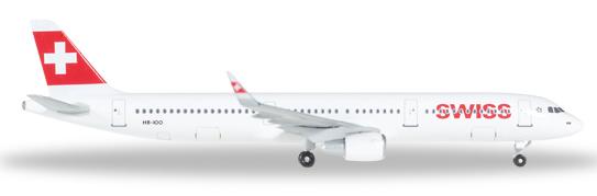 Herpa 529471 - Airbus 321 Swiss International