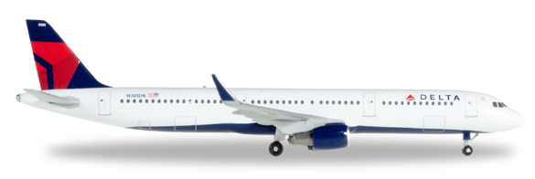 Herpa 529617 - Airbus 321 Delta Airlines