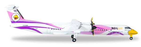 Herpa 529808 - Bombardier Q400 Nok Air, Nok Kao