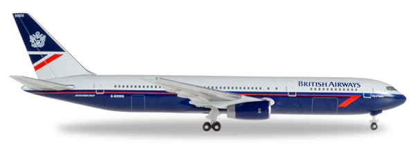 Herpa 529822 - Boeing 767-300 BA, Landor Colors