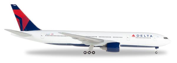 Herpa 529839 - Boeing 777-200 Delta Air Lines