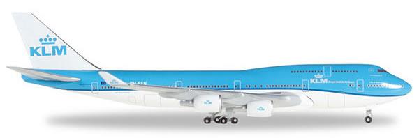Herpa 529921 - Boeing 747-400 529921-001 KLM - Vancouver