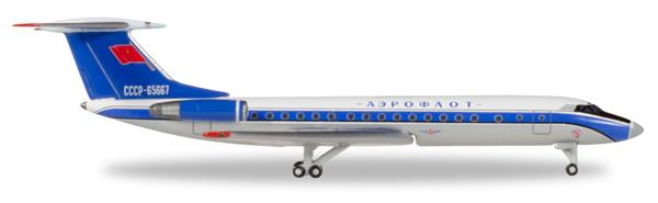 Herpa 529938 - Tupolev Tu-134a Aeroflot - Bluebird