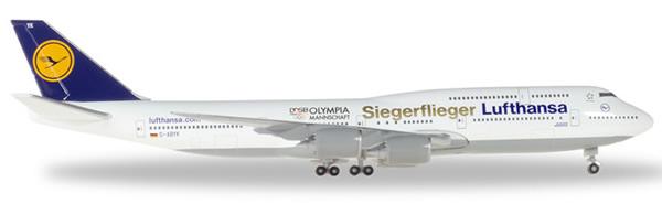 Herpa 530026 - Boeing 747-8 Lufthansa, Rio Olympics 2016