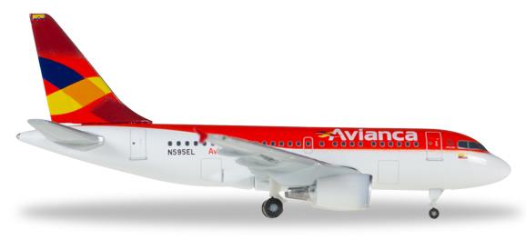 Herpa 530088 - Airbus 318 Avianca