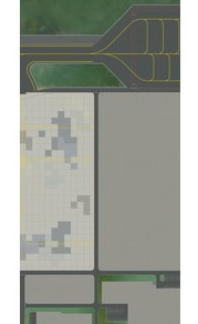 Herpa 530279 - Airport Ground Plates, (2 PCS) Total Meas. 49 X 1...