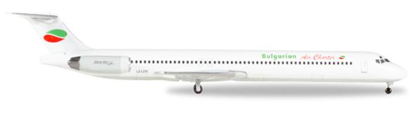 Herpa 530392 - MD-82 Bulgarian Air Charter