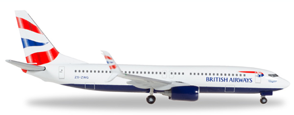 Herpa 530408 - Boeing 737-800 British Airways
