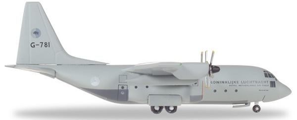 Herpa 530477 - C-130h Hercules Royal Netherlands Air Force