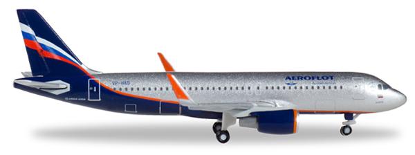 Herpa 530644 - Airbus 320 Aeroflot, Abram Loffe