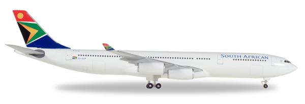 Herpa 530712 - Airbus 340-300 Saa, Mandela Day