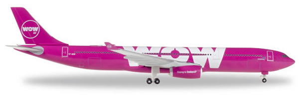 Herpa 530743 - Airbus 330-300 Wow Air