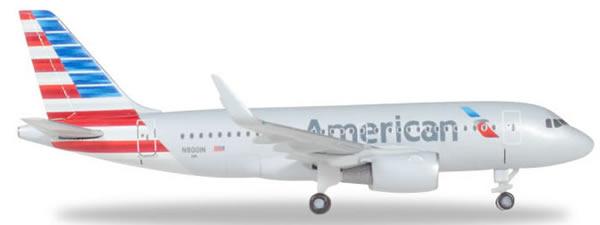 Herpa 530835 - Airbus 319 American Airlines