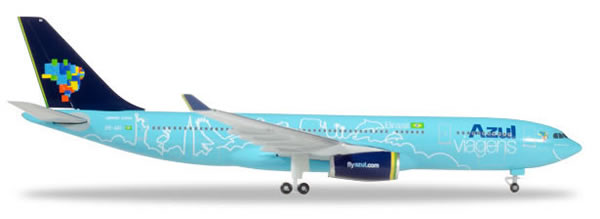 Herpa 530927 - Airbus 330-200 Azul, Red White And Azul