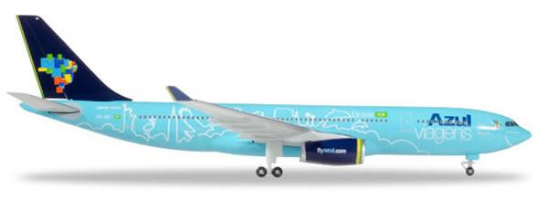 Herpa 530927 - Airbus 330-200 Azul, Red White And Azul