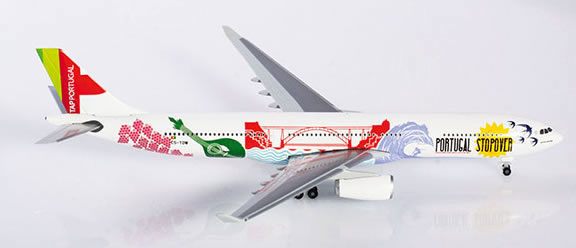 Herpa 530934 - Airbus 330-300 Tap, Portugal Stopover