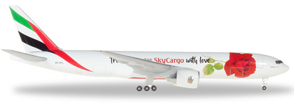 Herpa 531009 - Boeing 777F Emirates, from Emirates With Love