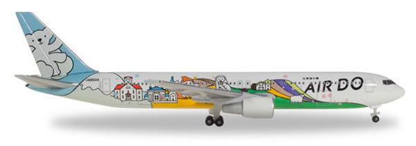 Herpa 531016 - Boeing 767-300 Air Do, bear Do Hokkaido Jet