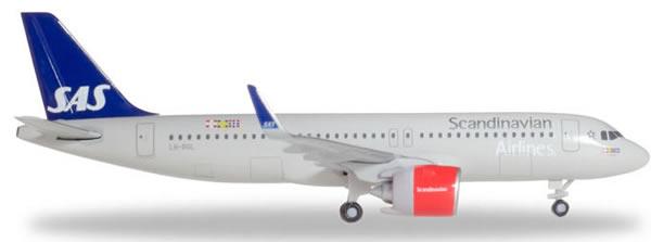 Herpa 531054 - Airbus 320 SAS Sol Viking