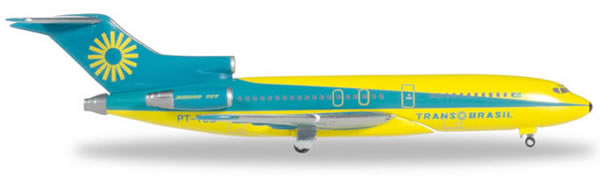Herpa 531078 - Boeing 727-100 Trans Brazil, Colorful Energy