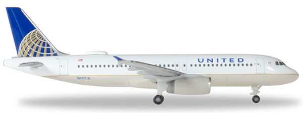Herpa 531252 - Airbus 320 United Airlines