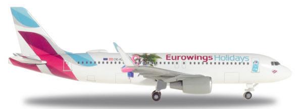 Herpa 531276 - Airbus 320 Eurowings Holidays Eurowings Europe