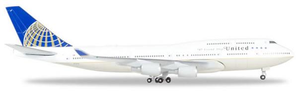 Herpa 531306 - Boeing 747-400 United,747 Farewell Flight