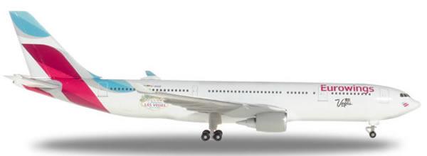 Herpa 531436 - Airbus 330-200 Eurowings, Las Vegas
