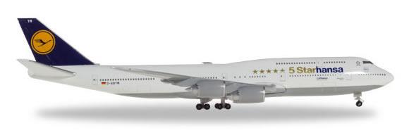 Herpa 531504 - Boeing 747-8 Lufthansa, 5 Starhansa