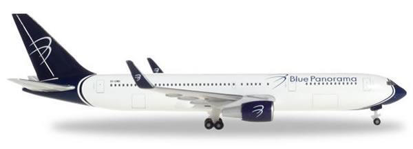 Herpa 531559 - Boeing 767-300 Blue Panorama, Citta De Milano