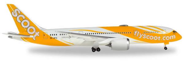 Herpa 531627 - Boeing 787-8 Scoot