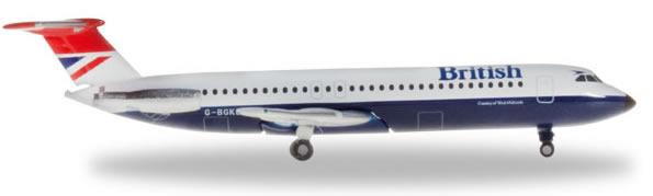 Herpa 531733 - Bac 1-11-500 British Airways