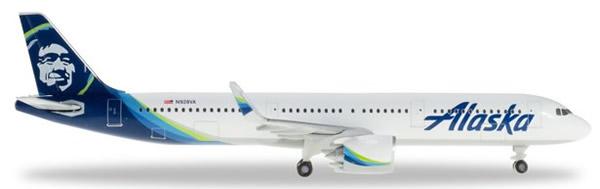 Herpa 531894 - Airbus 321NEO Alaska Airlines