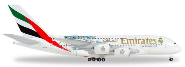 Herpa 531931 - Airbus 380 Emirates, Real Madrid 2018