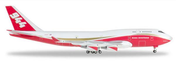 Herpa 531955 - Boeing 747-400 Supertanker Global Supertanker Ser...
