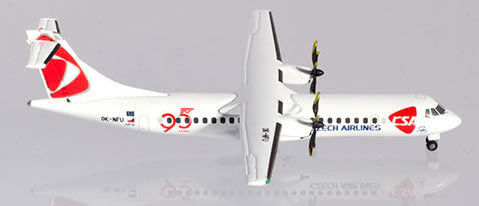 Herpa 532792 - ATR-72-500 Czech Airlines, 95 Years